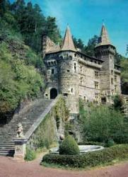 Chateau de la Rochelambert, Haute-Loire