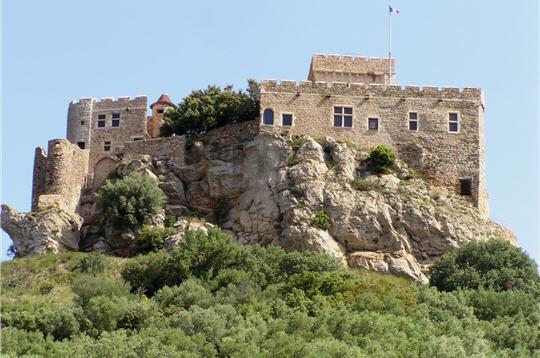 Château fort du Languedoc