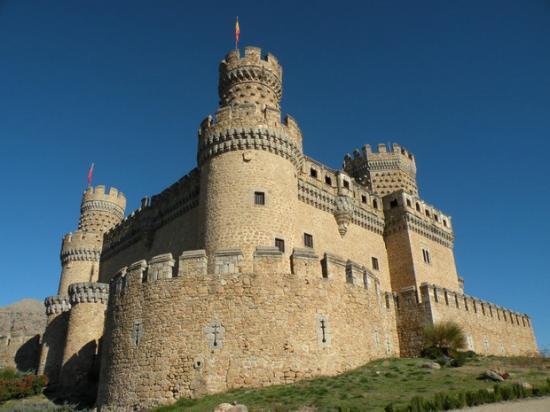 Chateau de Manzanares el Real, Espagne